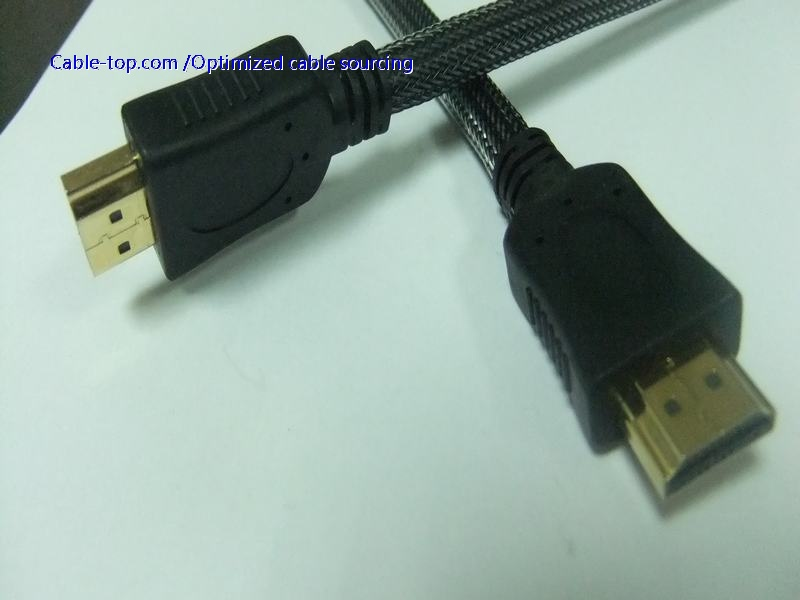 HDMI2.0 cable supports 18Gbps bandwidth, 60fps 4K, 32 channel audio