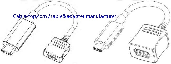 USB3.1 type C to USB3.0 A female cable