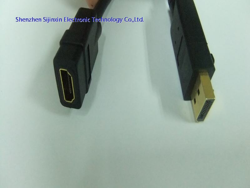 7in DP to HDMI Displayport adapter cable-M/F