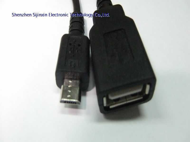 MicroUSB cable with OTG-M/F
