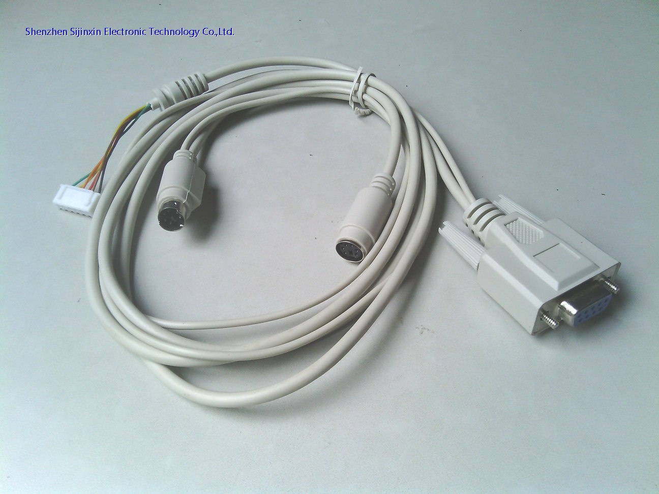 OEM DB9 to USB+MD+terminal cable