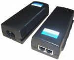 IEEE802.3af/at 15/30W POE adapter/injector