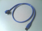 panel mounted USB3.0 A male to female extension cable