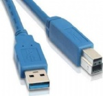 USB3.0 A male to B male printer cable