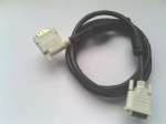 1-50ft High resolution 90° Left Angled DVI Monitor cable